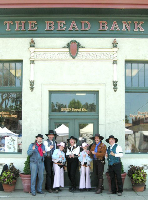 The Sunset Pioneers at the Bead Bank
