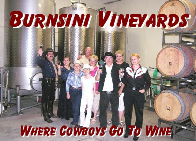 Pioneer Pepper & The Sunset Pioneers in the Burnsini Vineyars