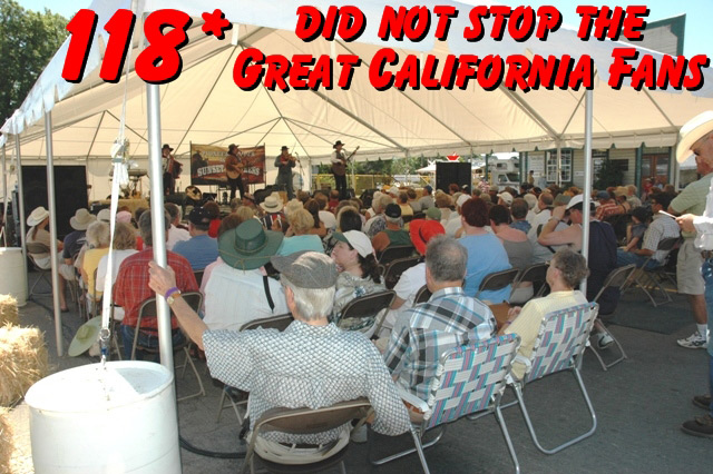 The Sunset Pioneers perform for their California fans