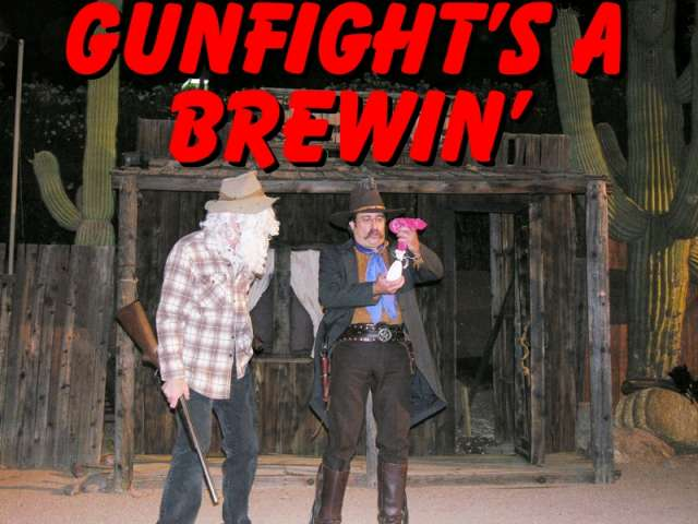 Gunfight with The Sunset Pioneers