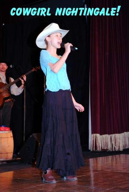 Cowgirl Nightingale Cassandra of The Sunset Pioneers