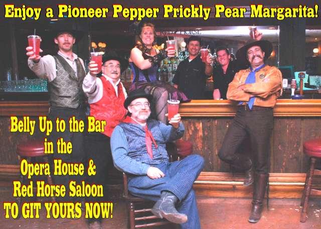 Pioneer Pepper Prickly Pear Margarita
