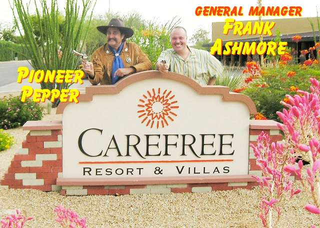 Pioneer Pepper & Frank Ashmore of the Carefree Resort