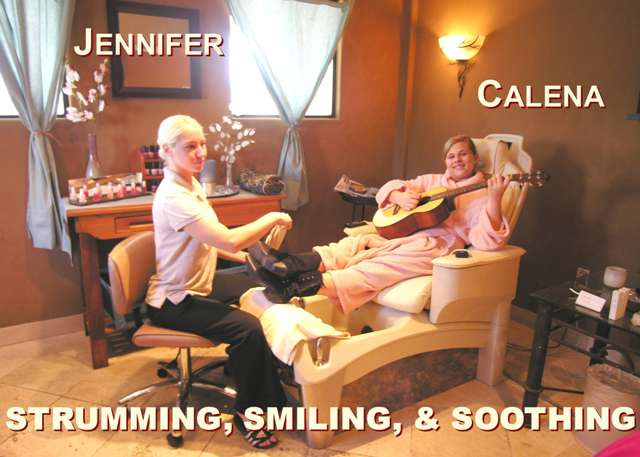 Calena of The Sunset Pioneers at the Spa