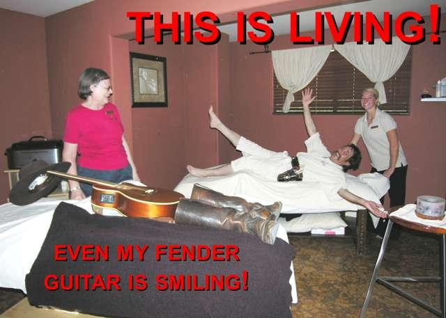 Pioneer Pepper & his Fender Guitar