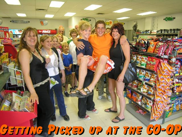 Fun at the CO-OP