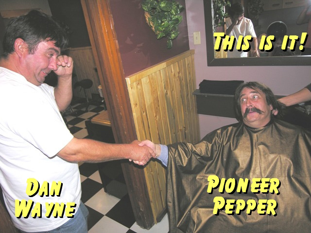 Pioneer Pepper gets the hair wash treatment