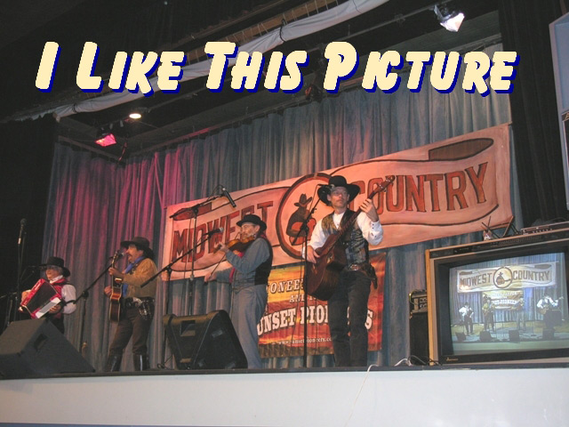 Pioneer Pepper & The Sunset Pioneers live on TV