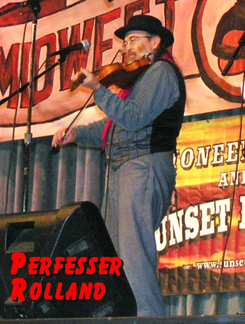 Perfesser on Midwest Country TV