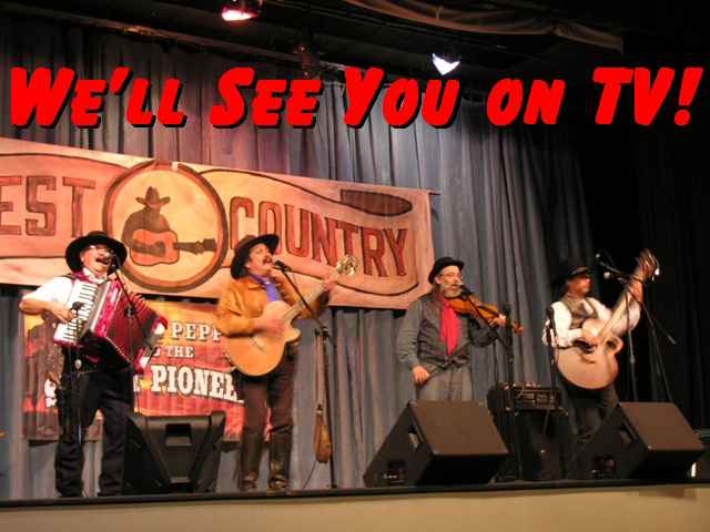 Pioneer Pepper & The Sunset Pioneers sing on Midwest Country TV