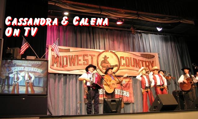 Cassandra & Calena of The Sunset Pioneers on TV